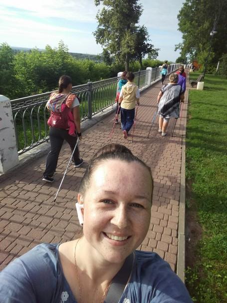 В Кирове с успехом прошёл I межрегиональный командный чемпионат Nordic Walking «Кубок ВЯТКИ 2019»