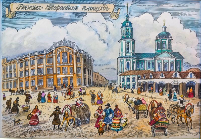 14 сентября – юбилей у известной вятской художницы Татьяны Павловны Дедовой