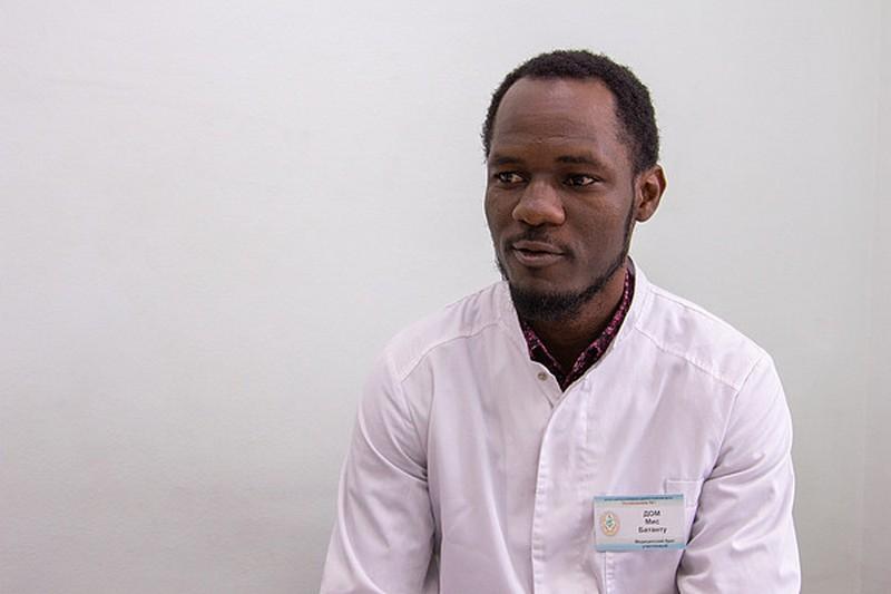 Уроженец Конго Дом Мис Батанту: «Пациенты сначала удивлялись…»