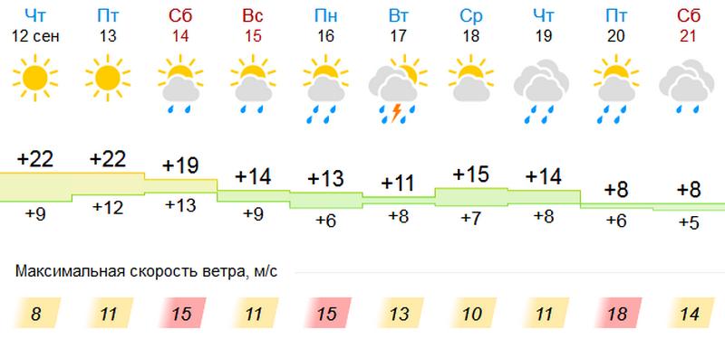 Синоптики сообщили, когда в Кирове закончится бабье лето