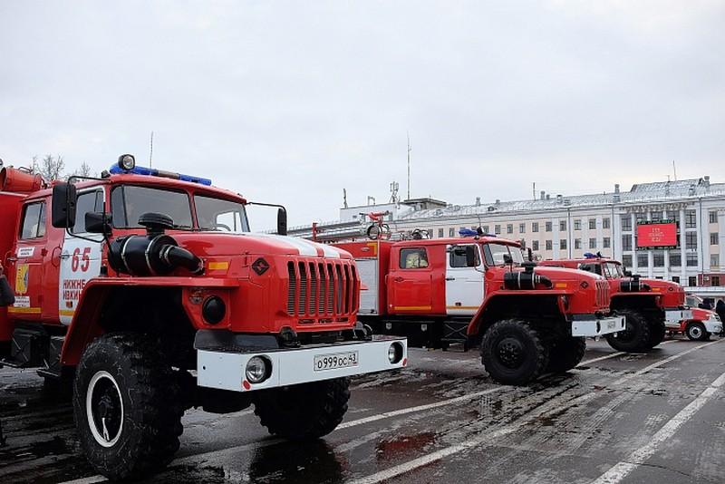 В помощь пожарным – новые машины