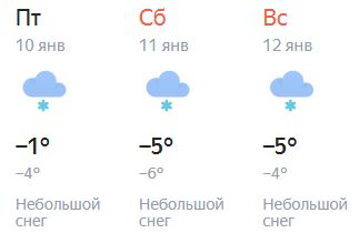 В Кирове выпадет снег