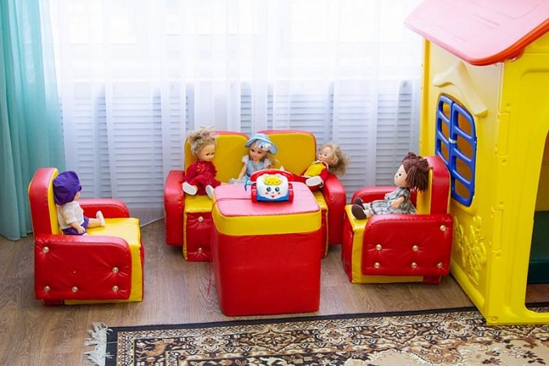 Ведомственный детский сад начинает работу