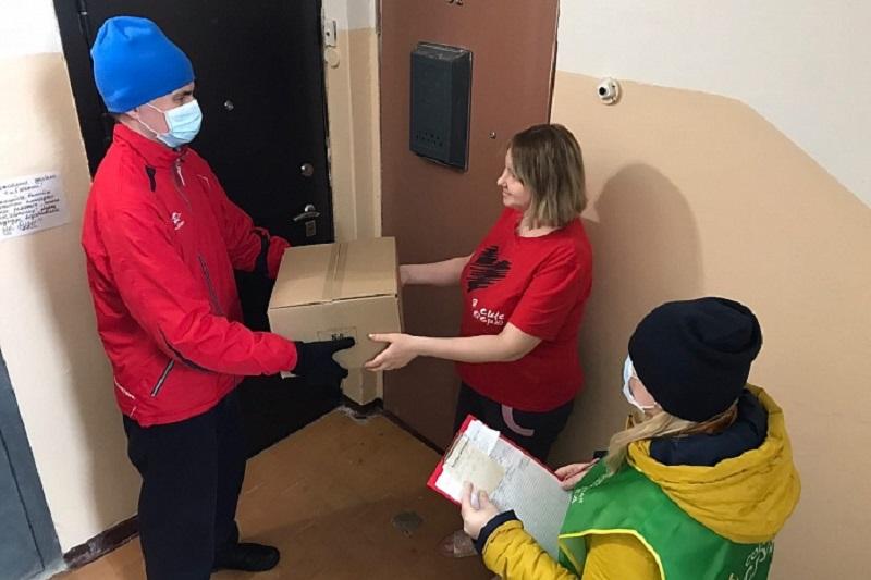 За неделю более 1000 семей Кировской области получили «продуктовую помощь»