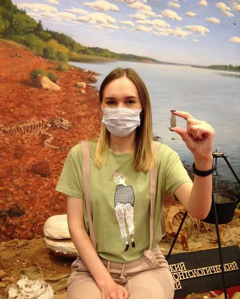 Кировчанка нашла наконечник стрелы эпохи неолита
