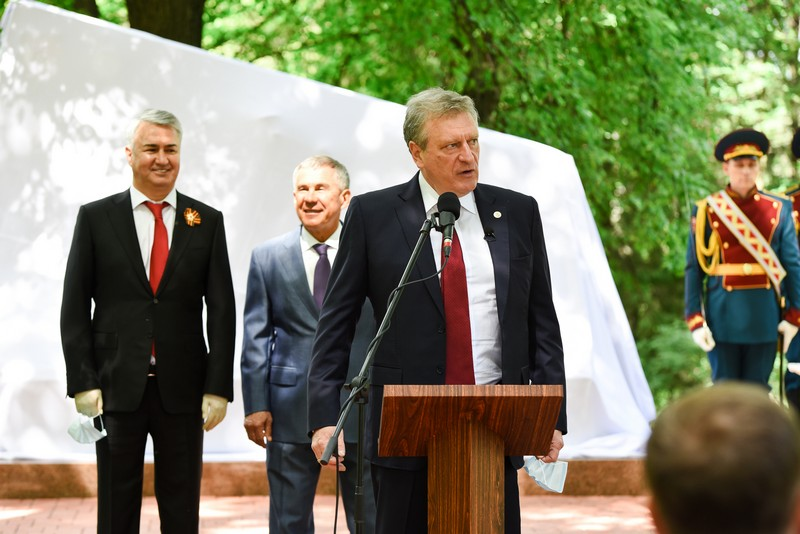 В Слободском открыли мемориал бойцам 311-й стрелковой дивизии
