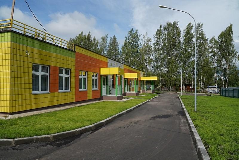 Новый детский сад построили в рамках нацпроекта «Демография»