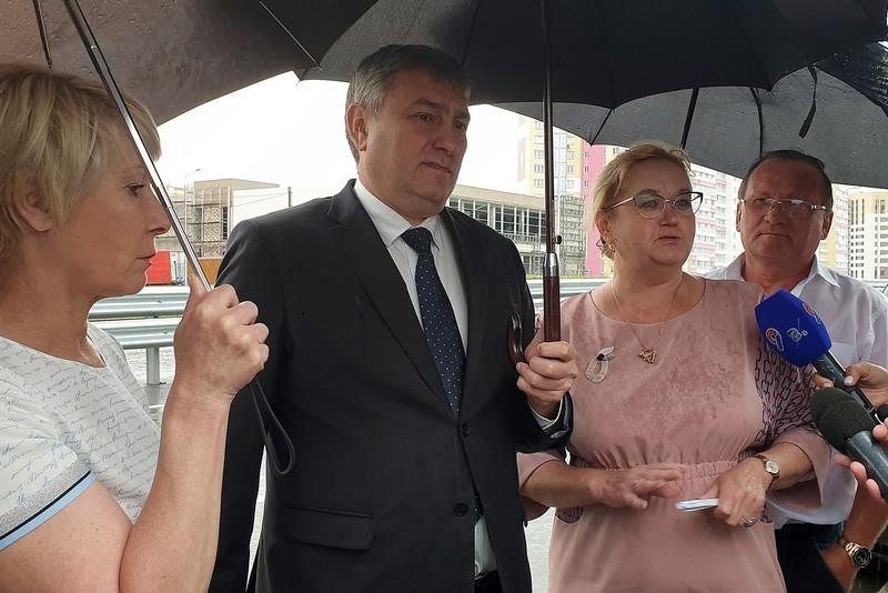 В Кирове открыли движение для транспорта по улице Попова в Чистых прудах