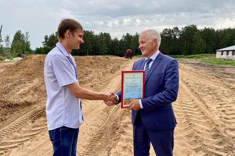 Новую ферму построят за год