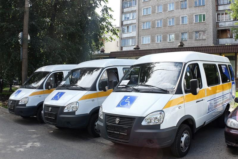 Районы получат новые автомобили для перевозки маломобильных граждан