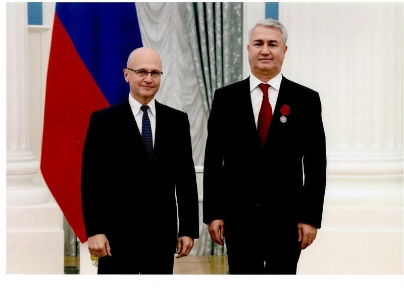Рахим Азимов награжден медалью ордена «За заслуги перед Отечеством»