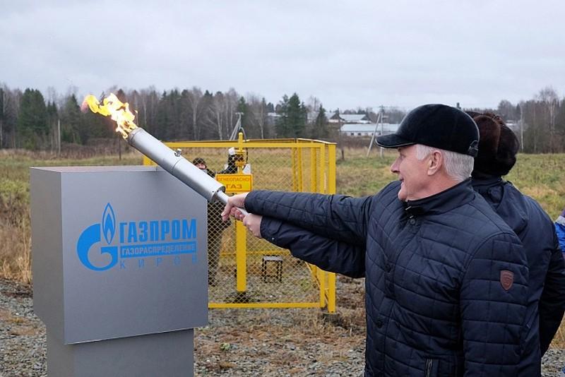 В село Шестаково Слободского района «пришел» газ