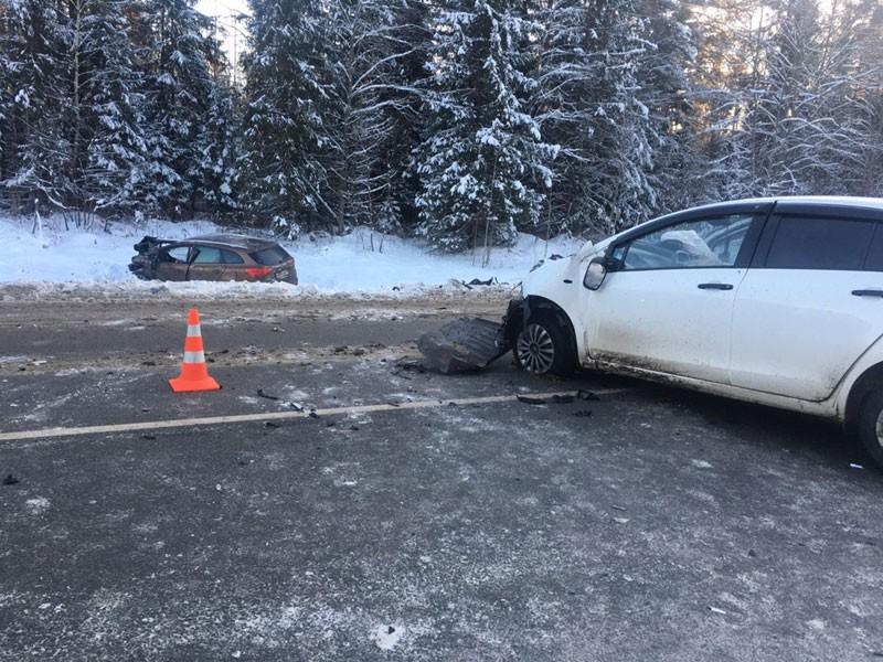 В Кировской области произошло серьёзное лобовое ДТП
