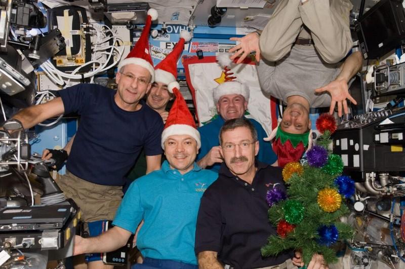 Кировчане увидят, как отмечают Новый год на МКС