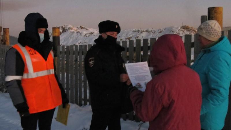 В Слободском районе лыжники остановили движение поезда на 5 минут