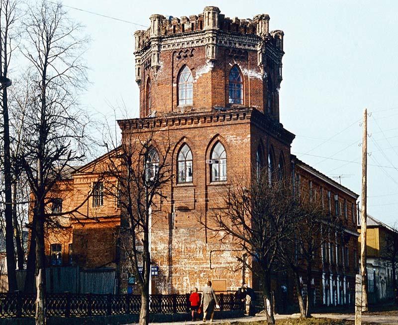Водонапорная башня в Слободском попала в Википедию