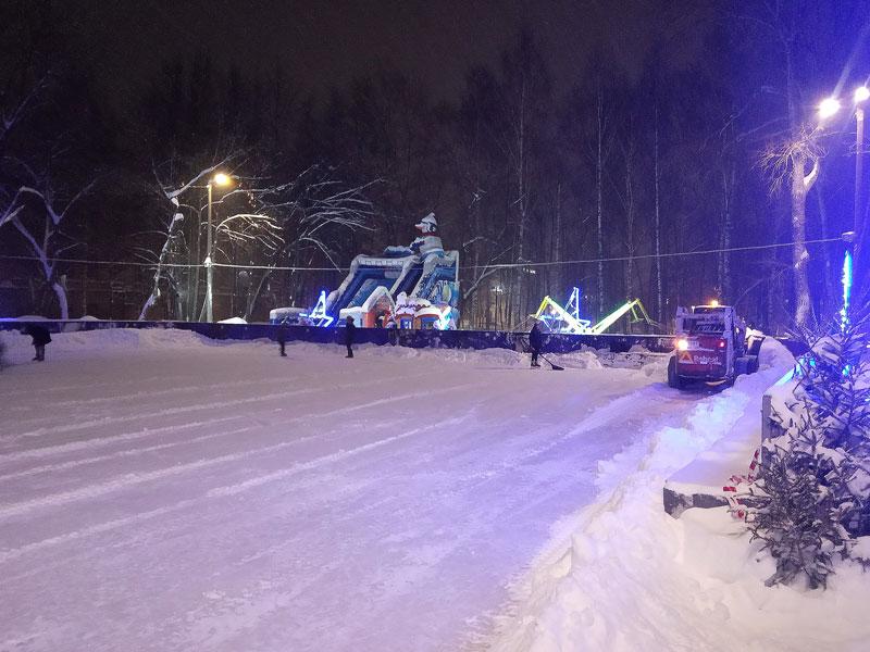 Киров засыпало снегом
