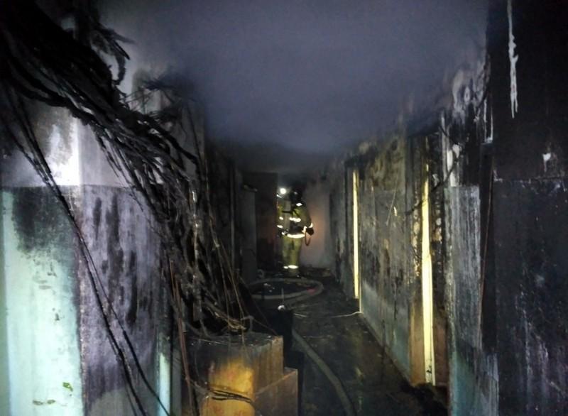 В Нововятске рано утром произошел страшный пожар