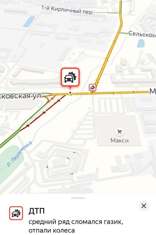 В Кирове у грузовика отпали колеса
