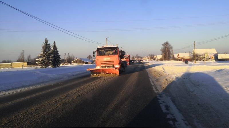 Киров очистили от снега