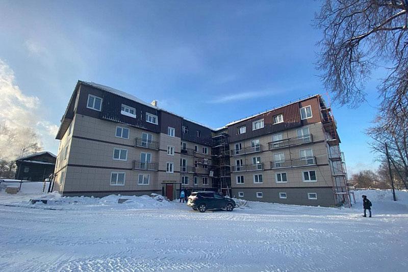 Единственный проблемный дом в Слободском сдадут в марте