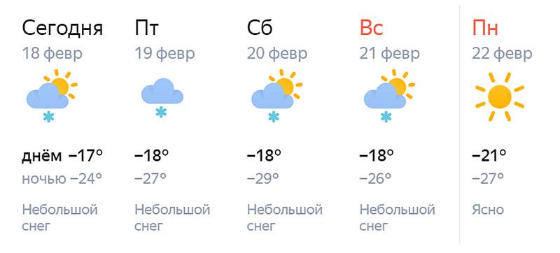 Кировчан ждут аномально холодные выходные