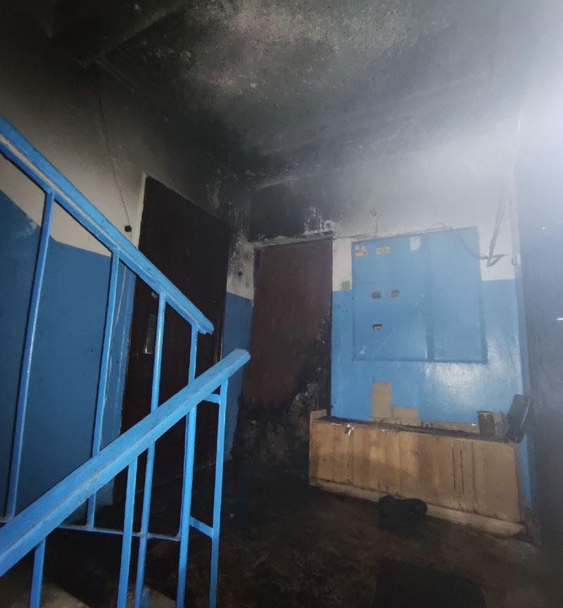 Во время пожара в Радужном пострадали 4 человека