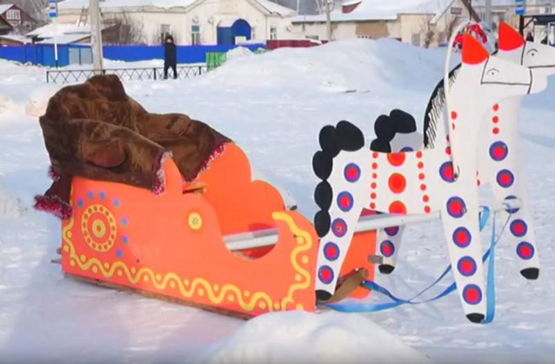 Жители Кировской области создали необычные сани