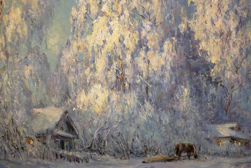 100 картин Андрея Широкова: как «Март в Дымково» покорил американцев