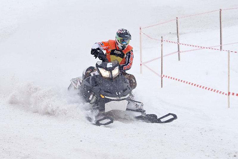 В Кирове впервые прошел чемпионат России по снегокроссу