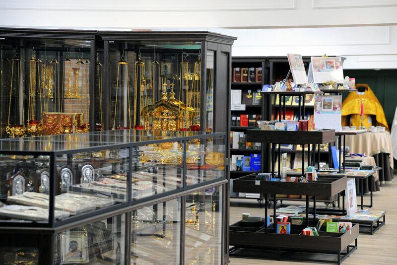 В Вятской Епархии открылся выставочный зал