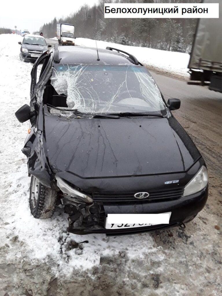 В Костино водитель «ГАЗели» во время обгона сбил пешехода