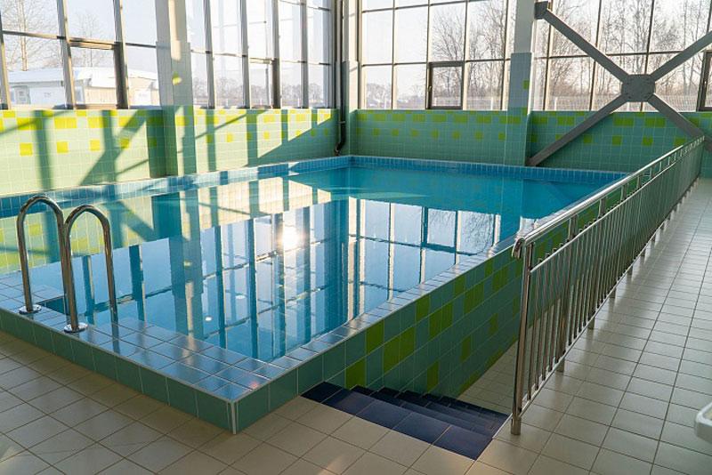 В «Вересниках» открыли бассейн