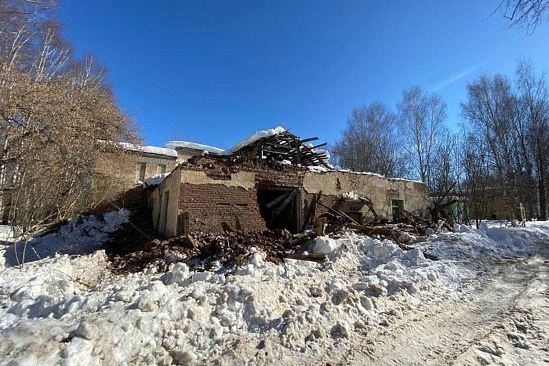 В Кирове начали сносить здания КВАТУ