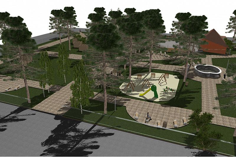 В Лузе благоустроят парк культуры и отдыха