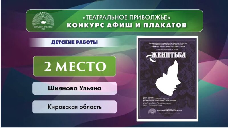 Кировская область вошла в число победителей фестиваля «Театральное Приволжье»