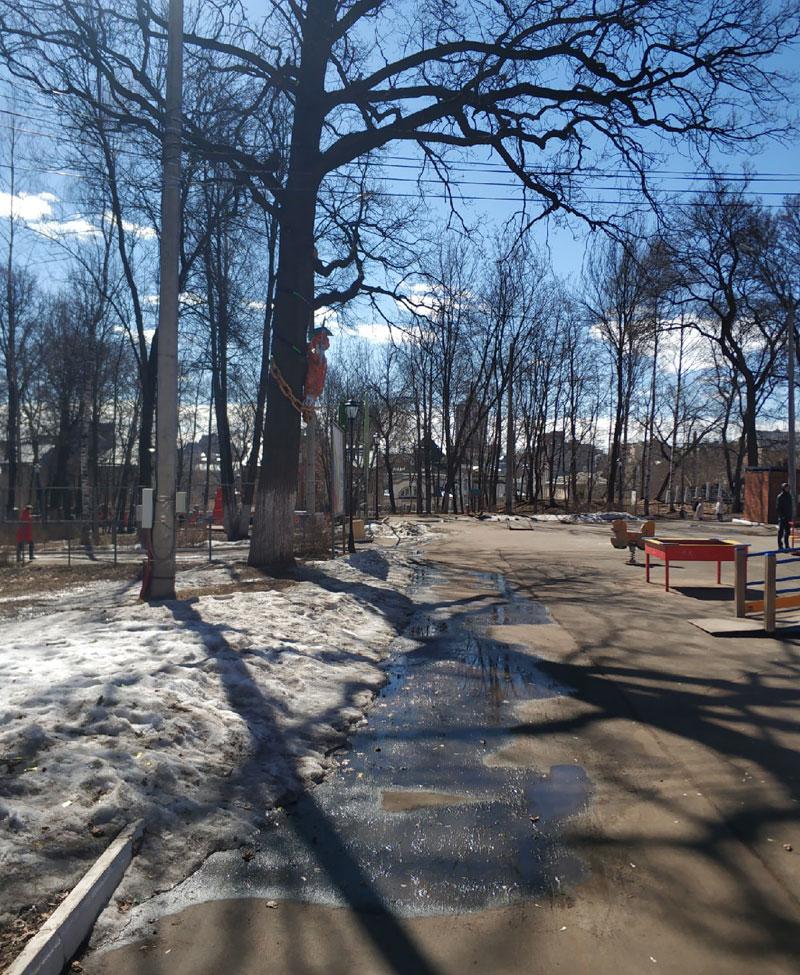 Парк «Аполло» начали готовить к лету