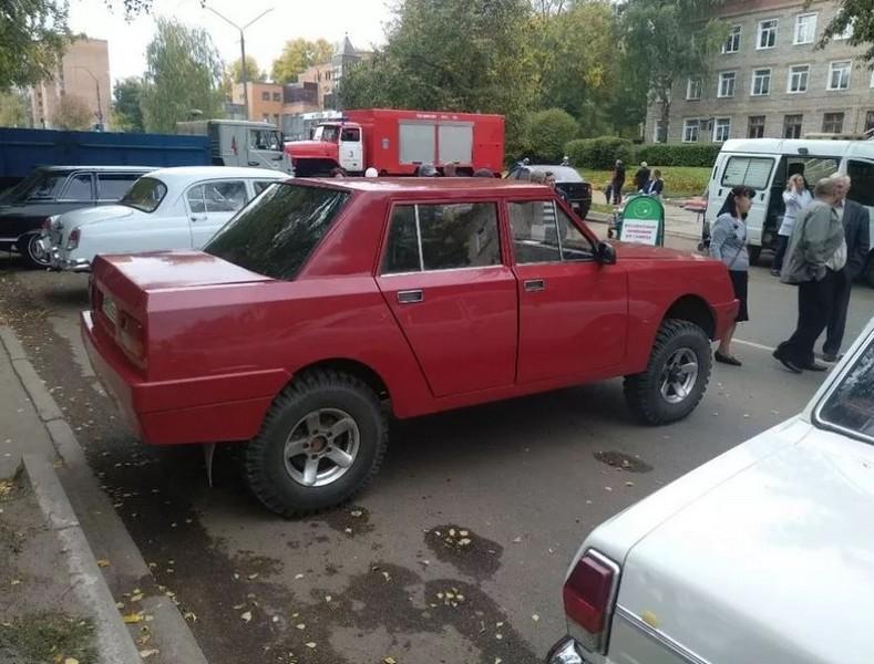 В Кировской области есть самодельный Lamborghini
