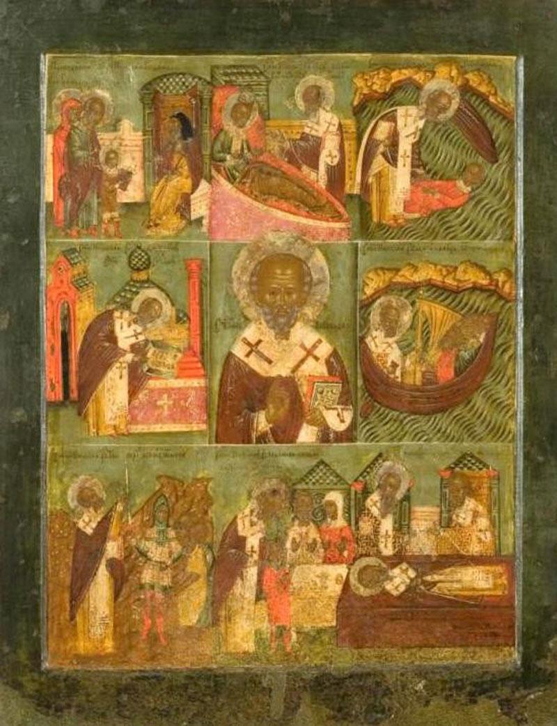 В Киров привезут старинную икону Николая Чудотворца
