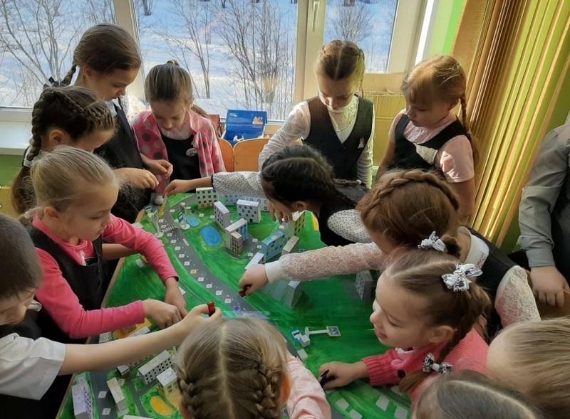 В Кирове создана точная копия одного из городских микрорайонов