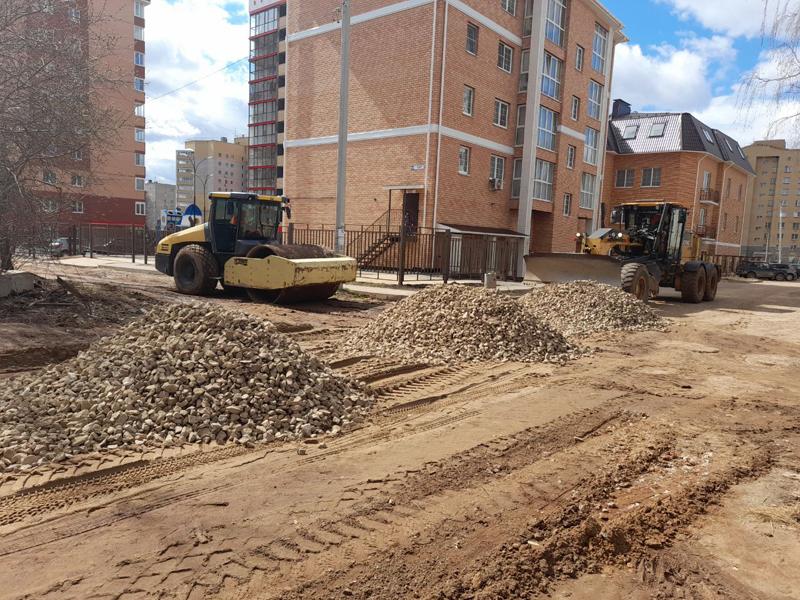 В Кирове начали ремонтировать Мининский переулок