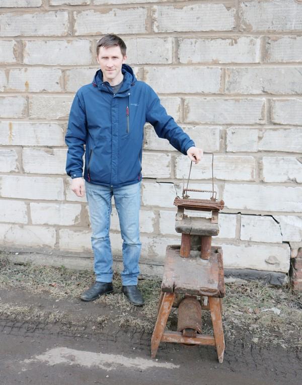 В Кировской области при разборе водонапорной башни обнаружен охотничий экспонат