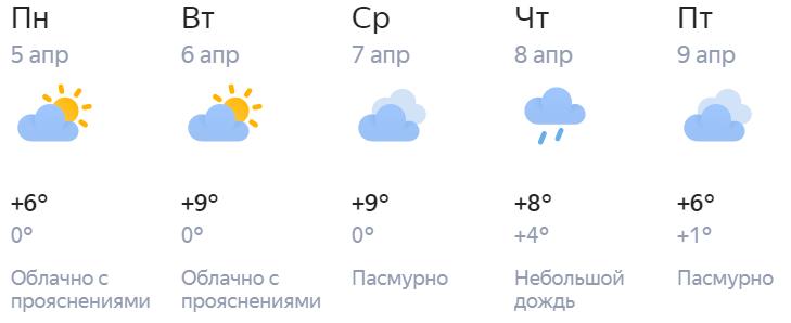 В Кирове значительно потеплеет