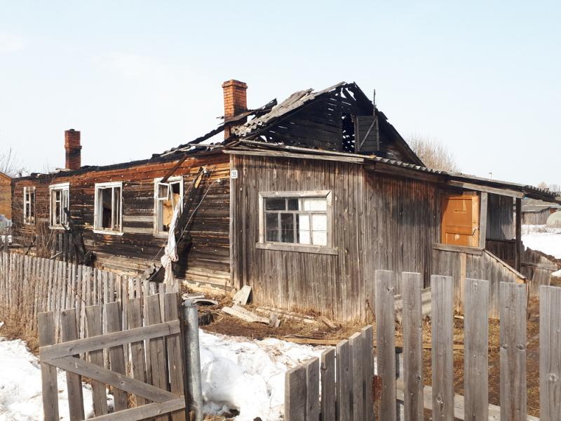 В Кировской области мужчина спас соседа из огня