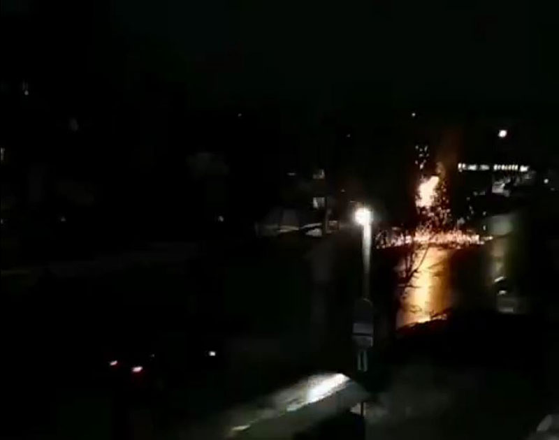 В Кирове произошло огненное шоу