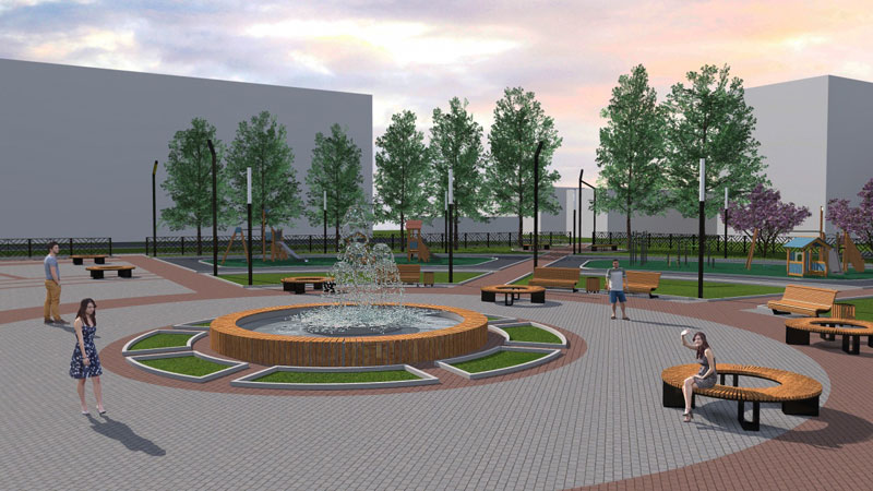 В Нововятске хотят устроить сквер на месте пустыря