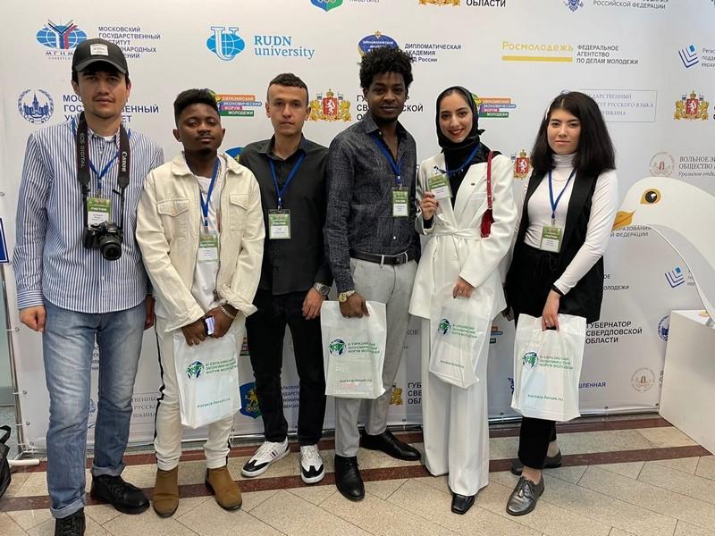 Иностранные студенты представляют Киров на международном форуме