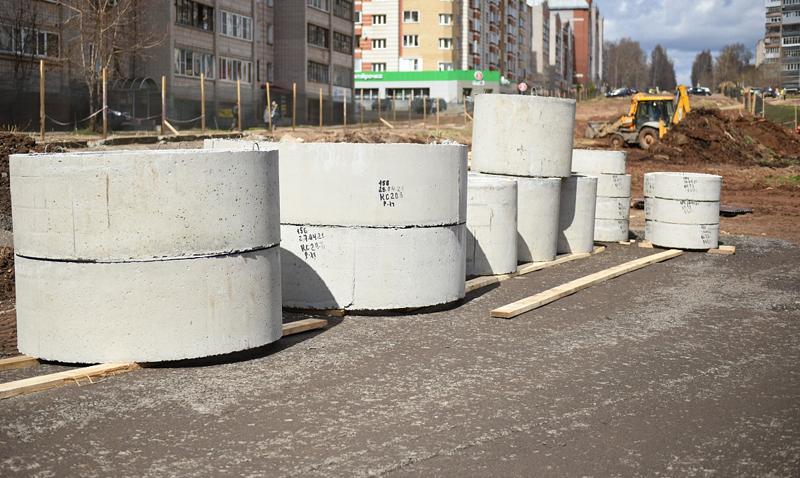 В Кирове начали строить улицу Сурикова