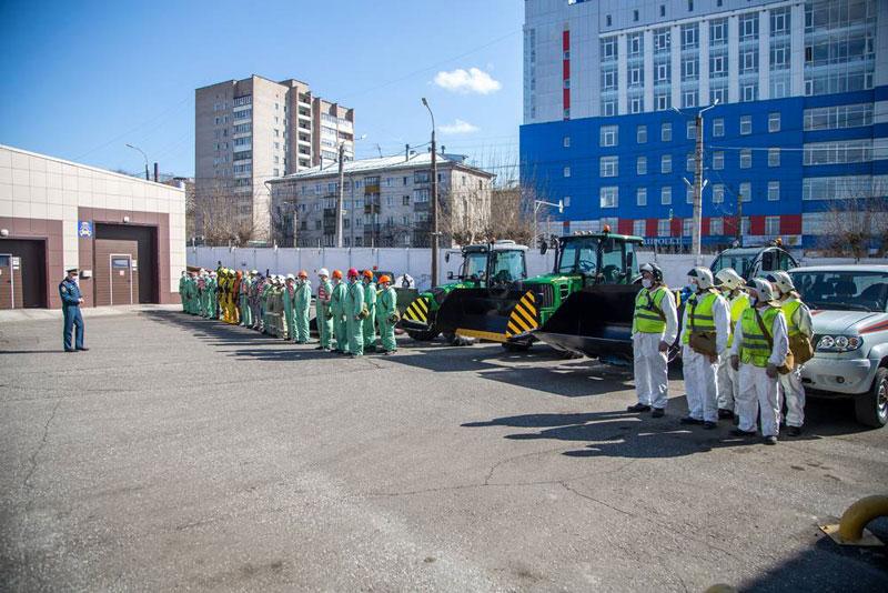 На Кировском молочном комбинате отработали взрыв газа и пожар