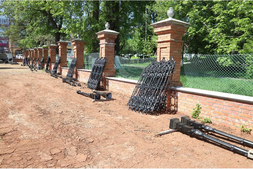 Возле Спасского собора разобьют сад